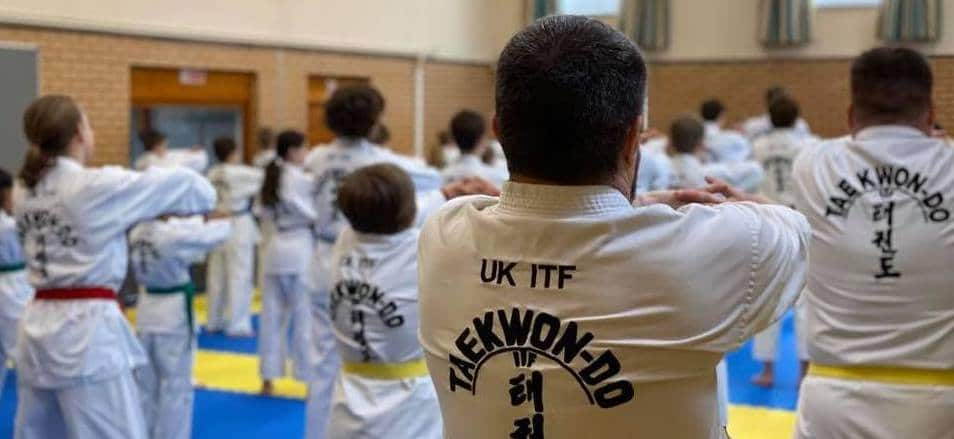 Taekwon-Do for Adults in Hitchin