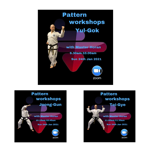 , 2nd in the series of patterns workshops, HSTS Taekwon-Do - Martial Arts Club