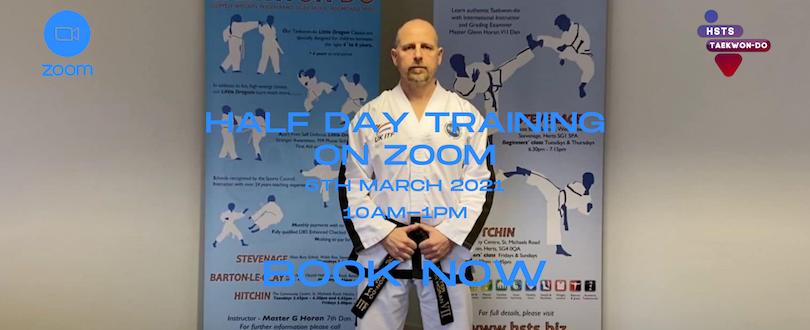 Half Day Training On Zoom – 03/21