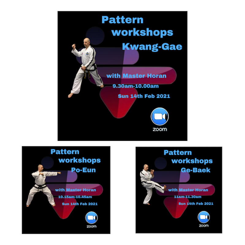 , 4th in the series of our patterns workshops, HSTS Taekwon-Do - Martial Arts Club