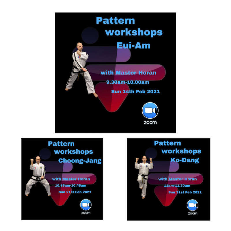 , 5th in the series of our patterns workshops, HSTS Taekwon-Do - Martial Arts Club