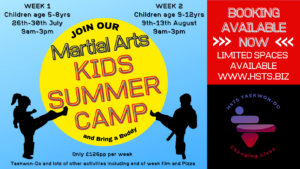, Kids Summer Camps 2021, HSTS Taekwon-Do - Martial Arts Club
